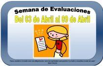 Semana de Evaluaciones