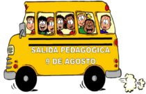 INVITACIÓN SALIDA PEDAGÓGICA 9 DE AGOSTO